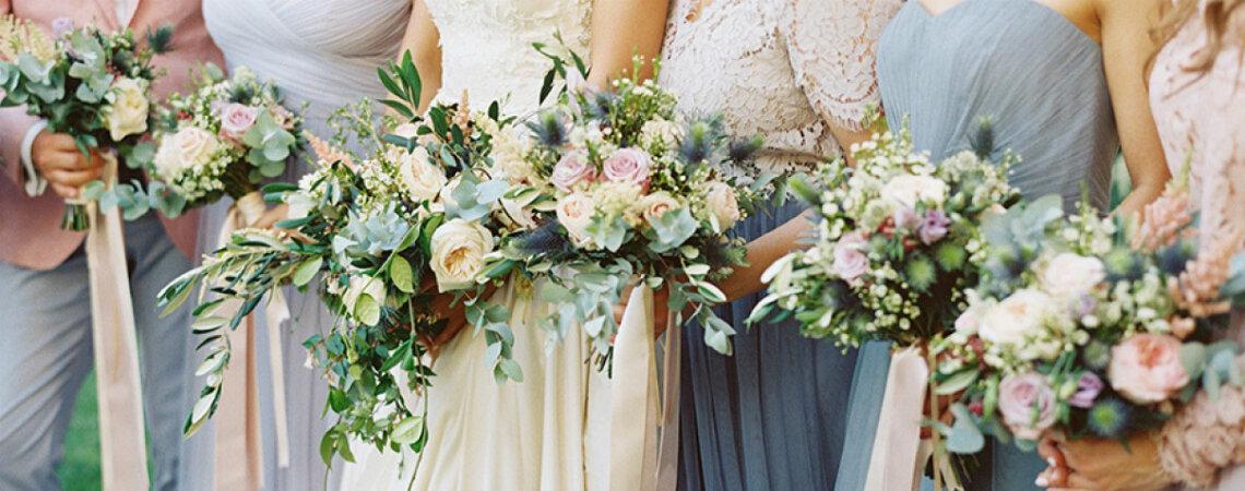 ¿Cómo elegir las flores del matrimonio? ¡Consejos para ambientar a base de color y alegría cada rincón!