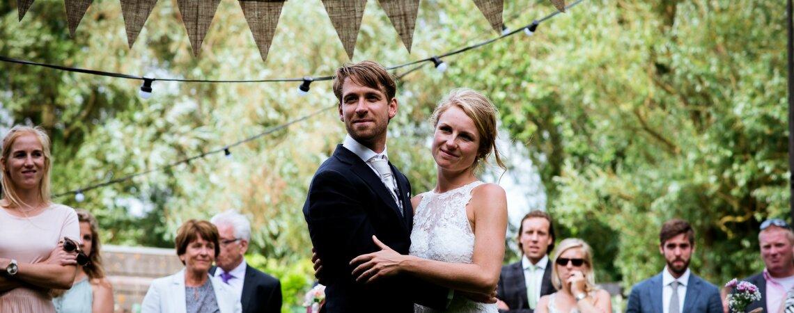 De prachtige Real Wedding van Joost en Marianne aan het water