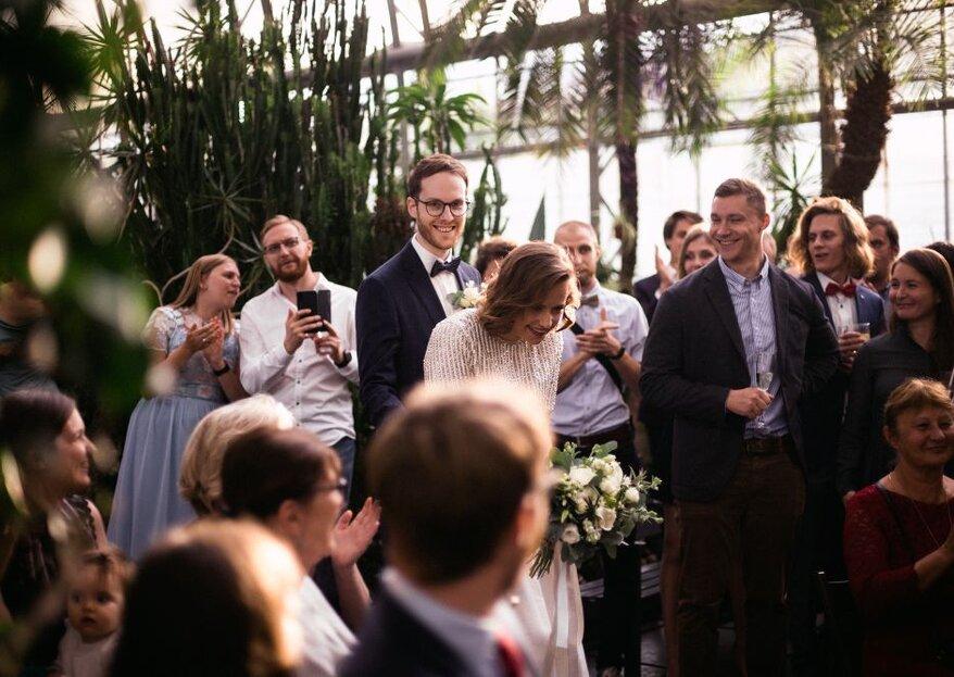 Свадебная вечеринка Насти и Алекса в Оранжерее Таврического сада