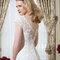 """Auch der Rücken einer Braut kann entzücken! Rückenfrei ist """"in"""""""