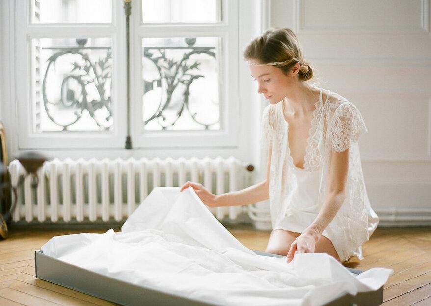 Comment nettoyer et conserver sa robe de mariée après le mariage