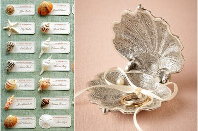 4 Styles for 4 settings: Boho chic wedding on the beach
