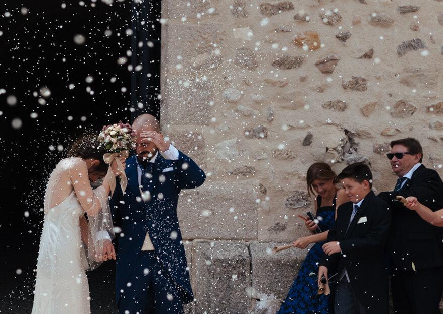 Déjate llevar por Miguel Serna y su estilo documental para las fotos de tu boda