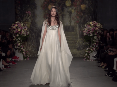 Jenny Packham Spring 2016 Bridal Collection Catwalk