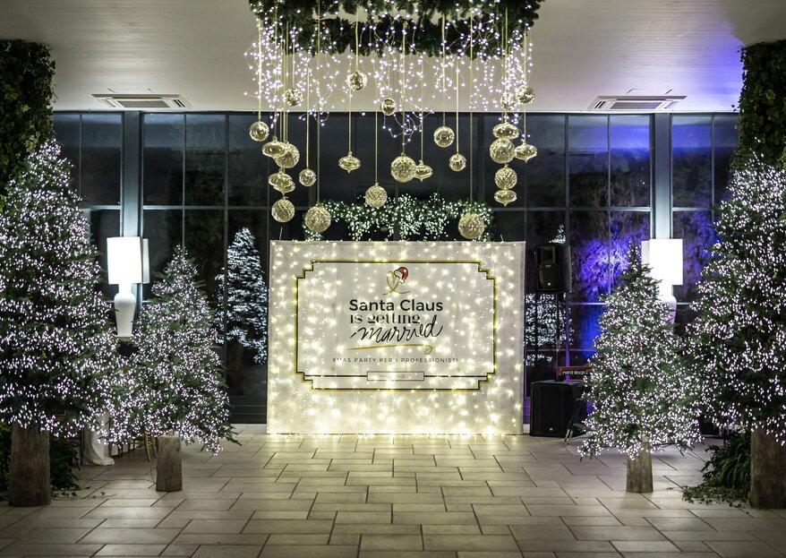 """""""Santa Claus is getting married"""", un evento natalizio che celebra il team come elemento essenziale di ogni azienda"""