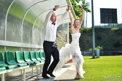 Amor e futebol: um casamento surpreendente com as cores da sua paixão