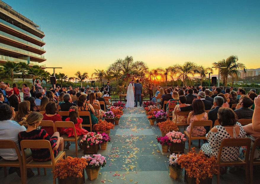 Grand Hyatt Rio de Janeiro: o seu casamento ou destination wedding em um hotel cinco estrelas e com paisagens de tirar o fôlego!