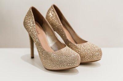 Seleção top de sapatos de noivas e convidadas super estilosos e confortáveis!