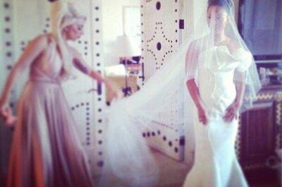 Lady Gaga es dama de honor en la boda de su mejor amiga