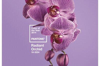 Radiant Orchid? Sì lo voglio! (ovvero, un matrimonio all'insegna del colore Pantone 2014)