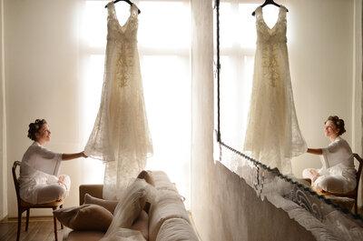 El vestido de novia: Un protagonista indiscutible en las fotos de boda