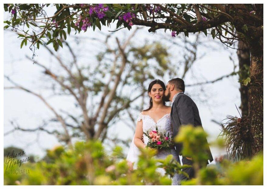 Deixe-se apaixonar pelos encantos destes espaços: viva o seu casamento em um deles!
