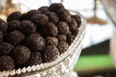 Brigadeiros para casamento: aposte numa mesa de doces SÓ desta delícia!