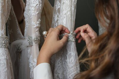 4 diseñadores de vestidos de novia que no conocías pero que te encantarán