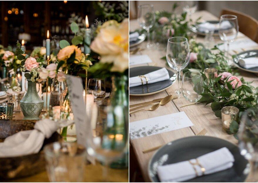 Hoe kies je de perfecte bruiloft decoratie met bloemen?