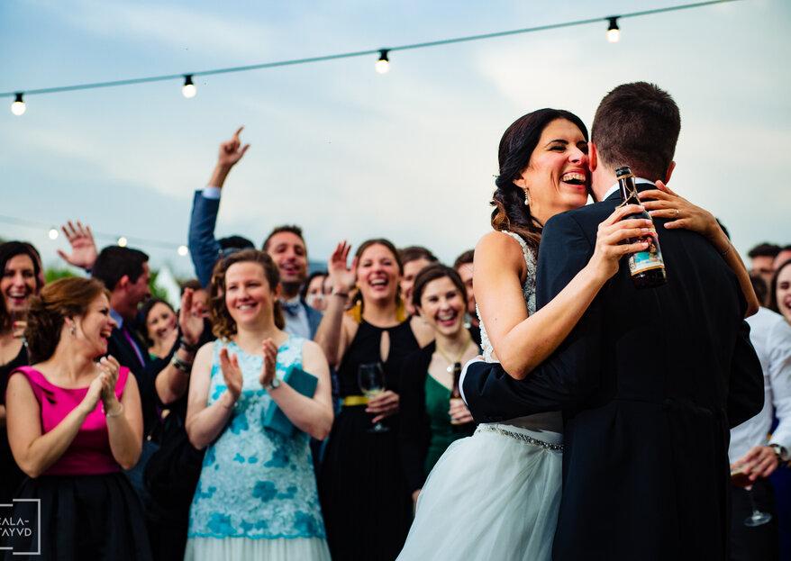 Personalidad y carácter en vuestras imágenes de boda con Calatayud Estudio