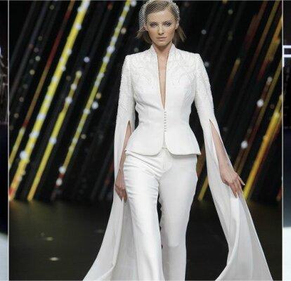 Neue Produkte üppiges Design hohe Qualitätsgarantie Hosenanzug für die Braut zur Hochzeit: tolle Modelle für ...