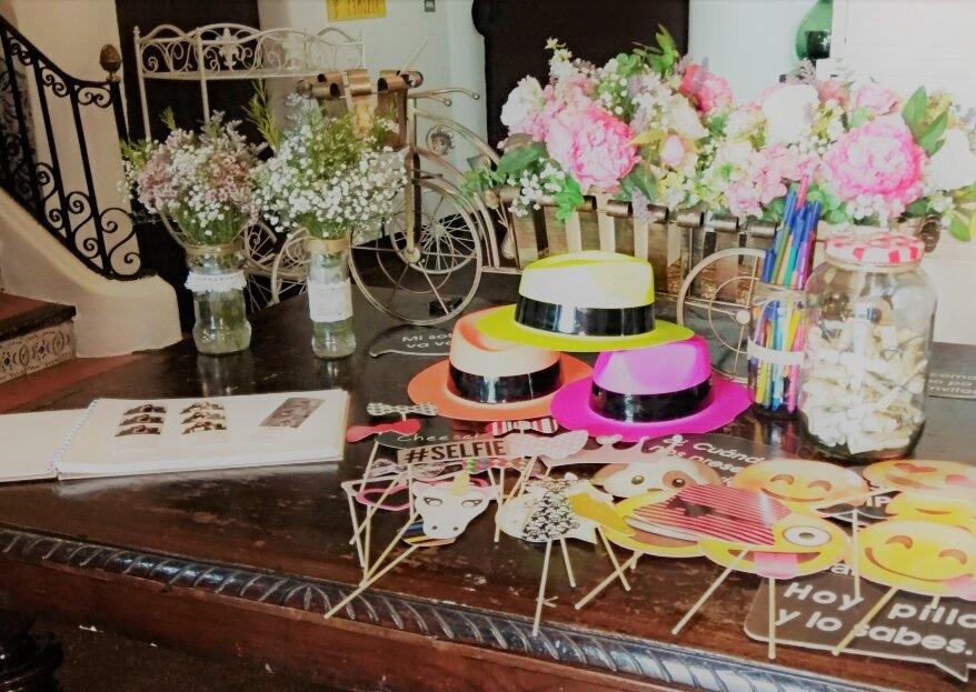Evento Fotomatón: el servicio para bodas especialista en sonrisas