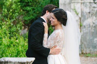 Depois de 10 anos de namoro: estes noivos Zankyou deram o nó e contam-nos a sua história!