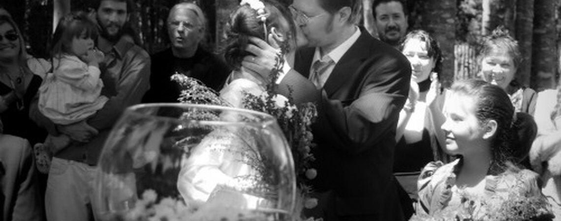 Matrimonio In Latino : Un matrimonio sureño con toda la mística de puerto varas