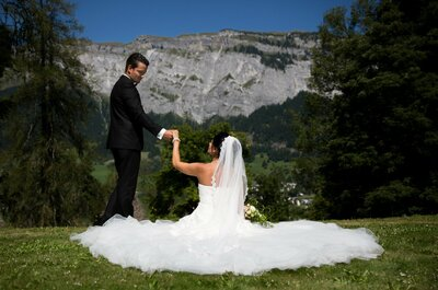 Ja-Wort im Waldhaus Flims Mountain Resort & Spa: Die perfekte Kulisse für Ihre Hochzeit in der Schweiz