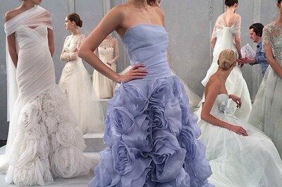 Baby blue is in fashion: свадебная мода 2015