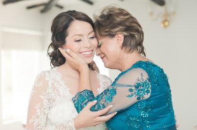 El vestido de la mamá de la novia en la boda: ¡Uno de los más importantes en este gran día!