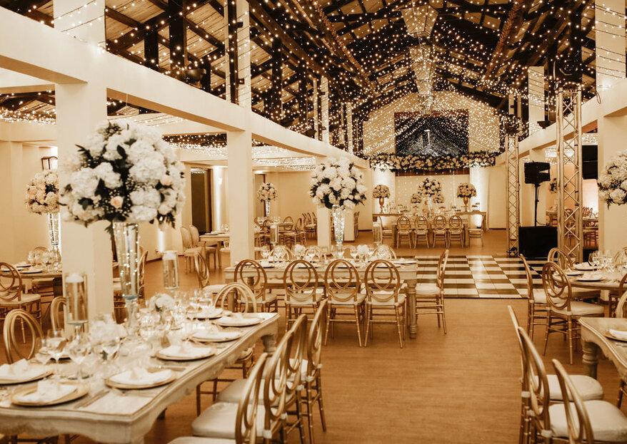Los 6 tipos de mesas para el menú según el estilo de tu boda
