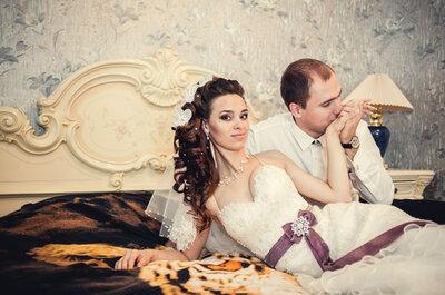 Bettgeflüster: 10 Dos and Don'ts für die Hochzeitsnacht!
