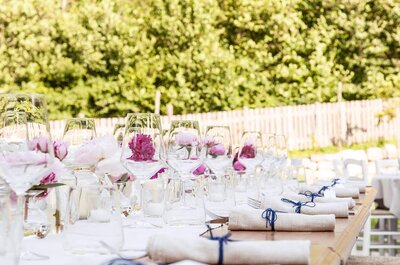 Allestimento per i tavoli del tuo matrimonio: ecco le migliori idee per il 2016
