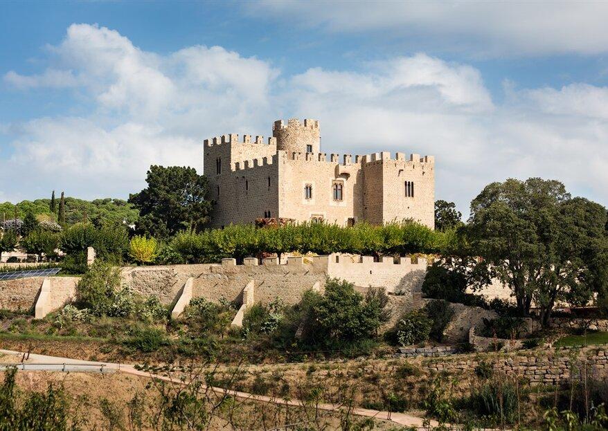 Cásate en el Castillo de Vilassar de Dalt, un enclave de cuento que jamás olvidarás