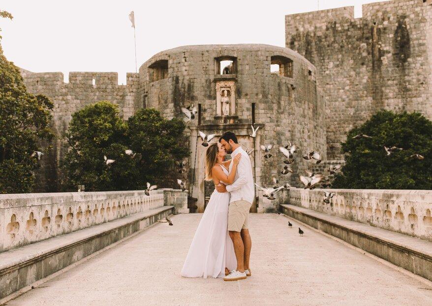 Verônica e Gerson: pré wedding inesquecível na Croácia