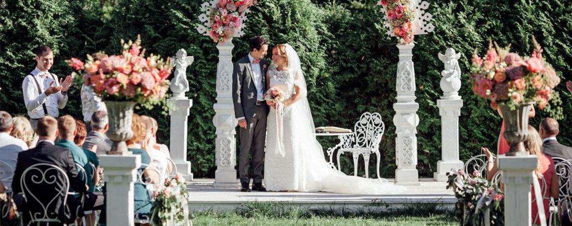 Выездная свадебная регистрация в Москве: 10 лучших мест