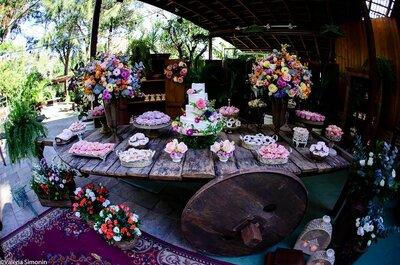 Casamento personalizado ao máximo com manualidades, reciclagem e muita criatividade: faça o seu assim!