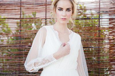 Vestidos de novia de David Christian 2015: la magia de la figura sensual