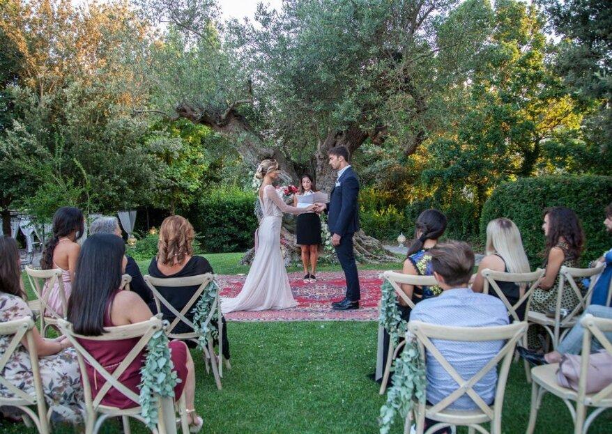 Il tuo matrimonio a 5 stelle presso Villa San Martino