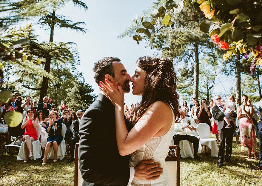 Perché sposarsi all'aperto? La parola al team di Benni Carol Photography