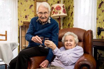 Una historia de amor única: el matrimonio entre una superviviente del Holocausto y el soldado que la rescató