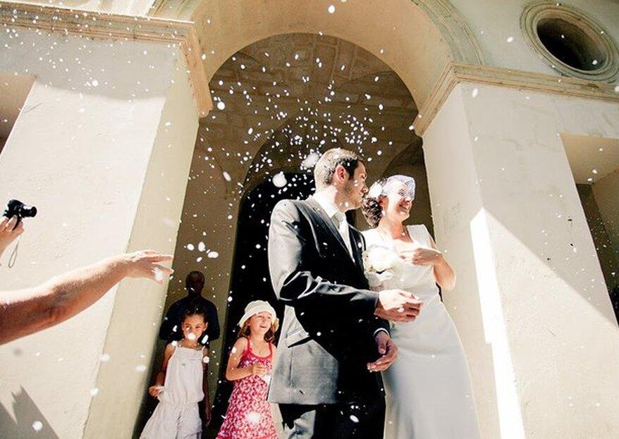 De jolies alternatives au lancer de riz pour votre mariage !