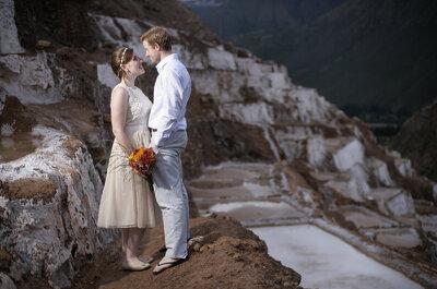Boda andina en Cusco: Ally y Scott, la magia peruana conquista Canadá