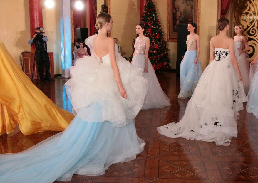 Показ Модного дома Svetlana Evstigneeva на «Ассамблее-2019» в Дзержинском