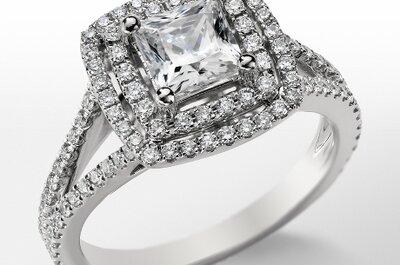 4 estilos de anillos de compromiso de moda en 2013