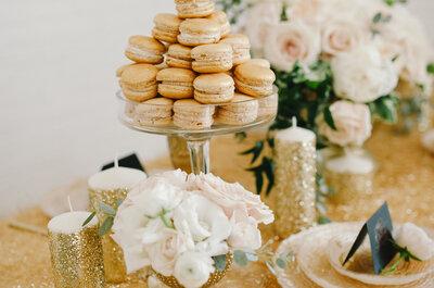 Tonos metálicos para una boda con mucho glam: La tendencia que causará furor