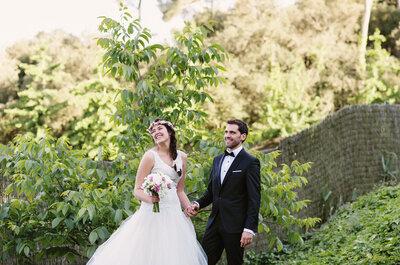 Dos meses bastaron para enamorarme: la boda de Carlota y Rafa