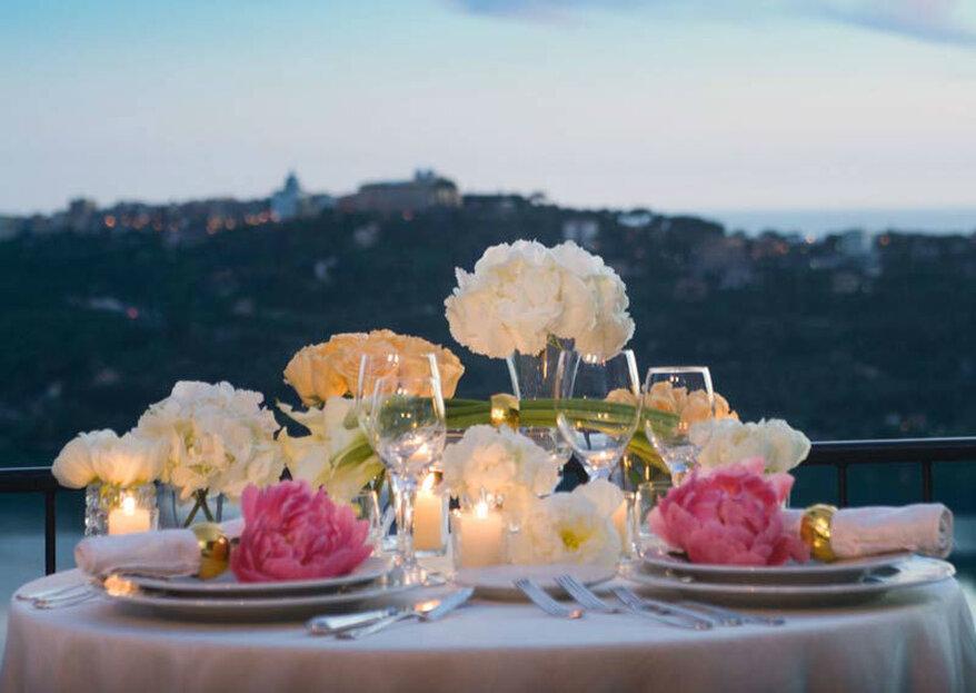 """Organizza il tuo matrimonio """"vista lago"""" a Villa Pocci"""