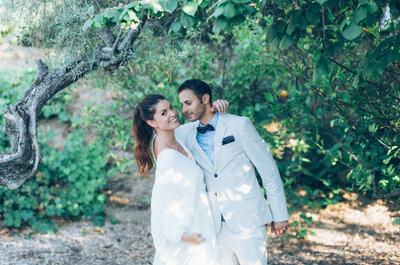 Una novia sofisticada y muy especial: el estilo que necesitas para tu día