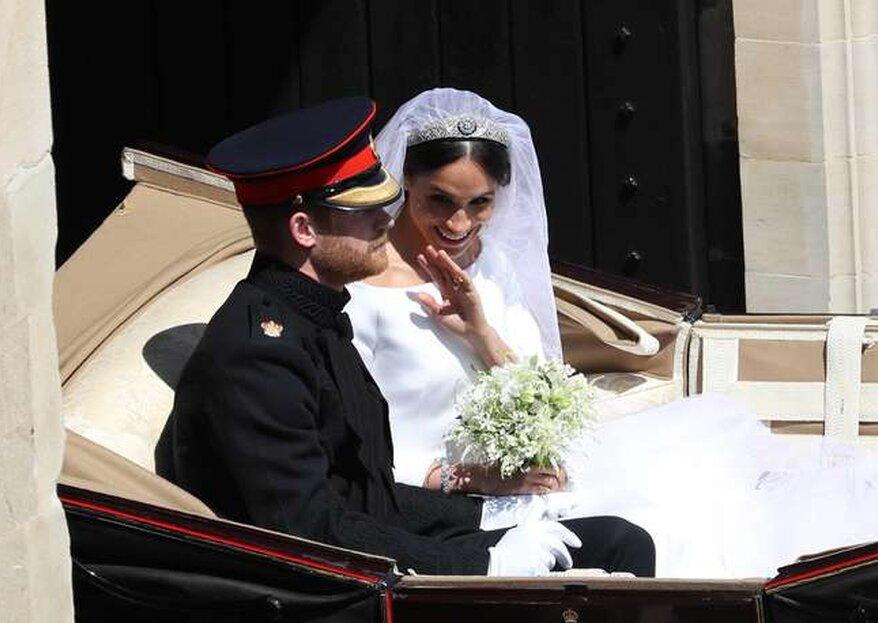 10 coisas que talvez você não tenha reparado no casamento de Harry e Meghan