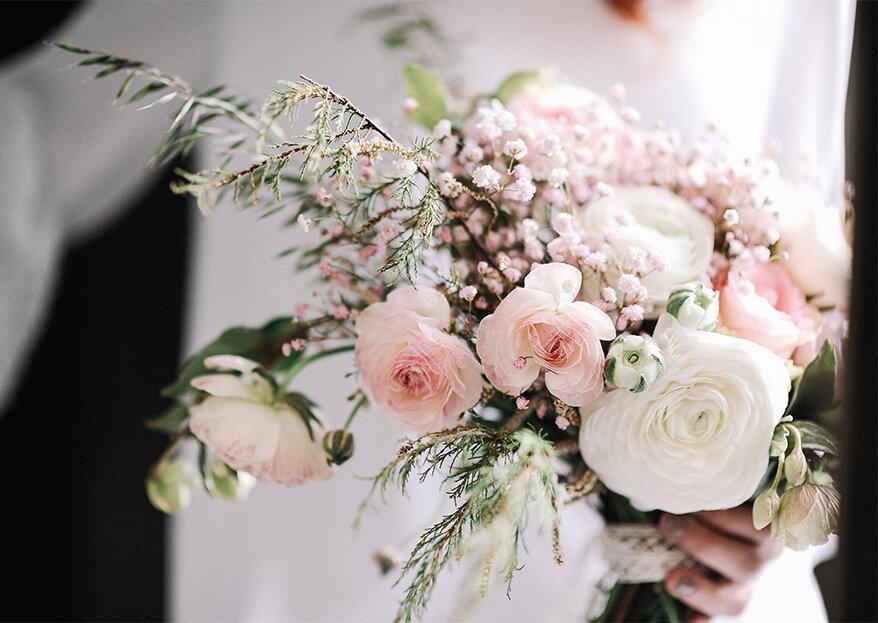 As 10 melhores flores para decorar o seu casamento, a sua casa e a sua vida!