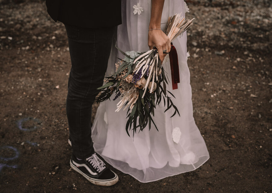 Rock&Wedding, por un reportaje de boda creativo, dinámico y lleno de vida