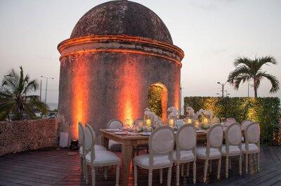 El Baluarte San Francisco Javier: ¡Toda la magia de Cartagena en tu boda!
